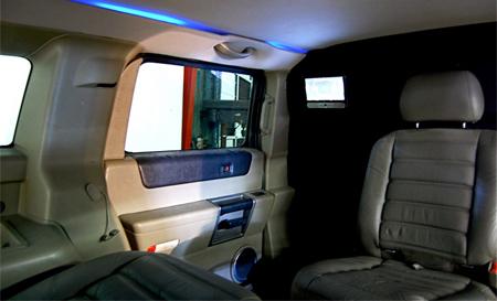 Hummer Cart Interior