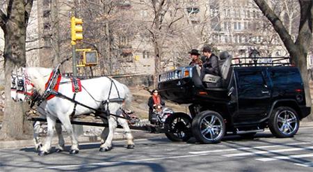 Hummer Cart