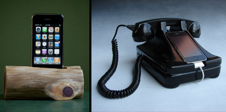 10 Creative Apple iPhone Docks