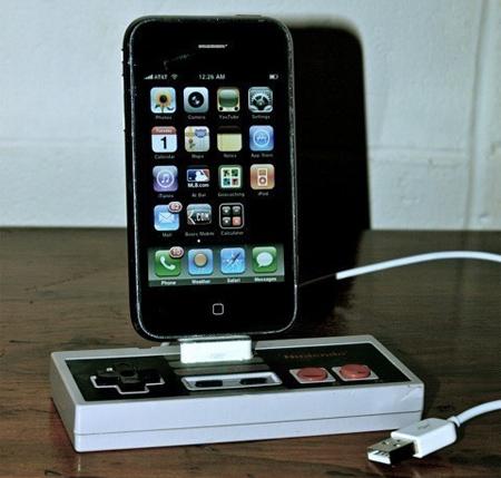NES Controller iPhone Dock