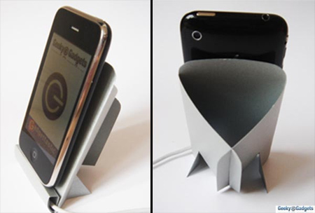 Cardboard iPhone Dock