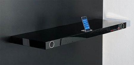 Bookshelf iPhone Dock