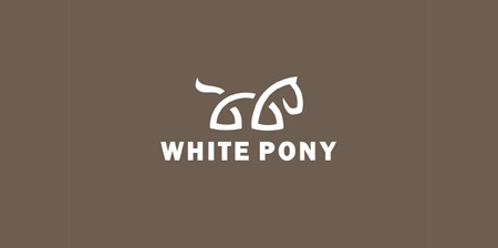 White Pony Logo
