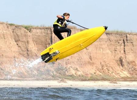 Ein neuer Sport   Spaß mit Flyboard von ZR
