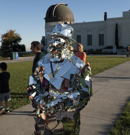 Mirror Man Street Performer