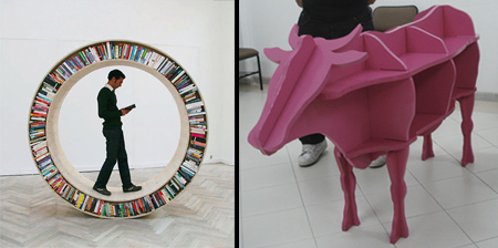 Unique and Creative Bookshelves