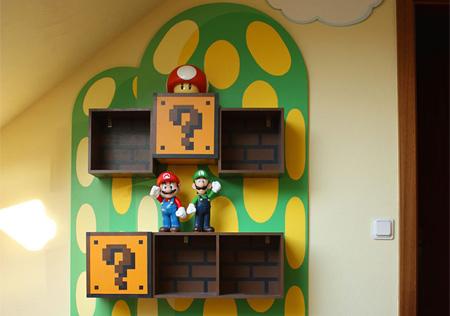 Mario Bookshelf