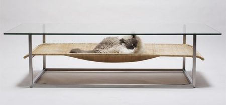 Cat Hammock Coffee Table