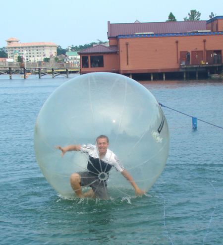 Ball for Walking on Water