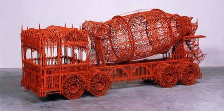Construction Vehicle Sculptures