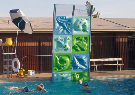 Swimming Pool Climbing Wall