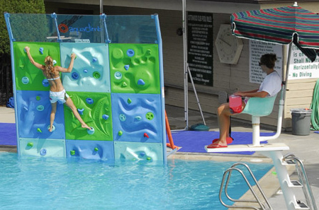 AquaClimb Rock Climbing Wall