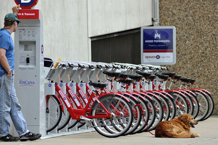 B-Cycle Bicycle Sharing System