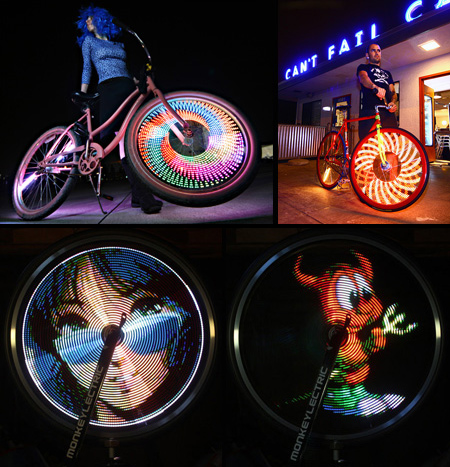 Bike Wheel Display System