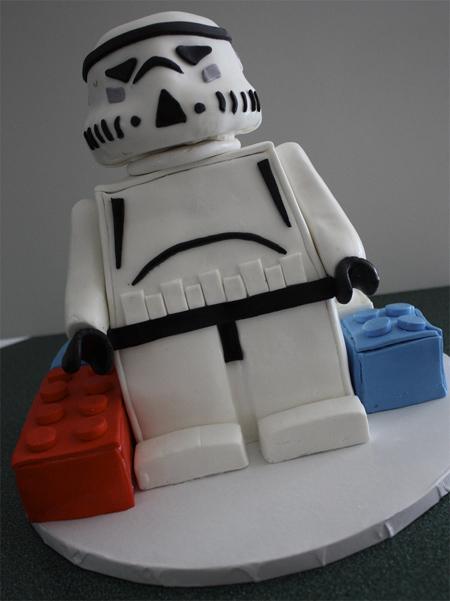 LEGO Storm Trooper Cake