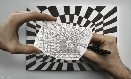 Drawing Merged with Real World