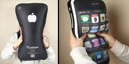 Apple iPhone Inspired Pillow