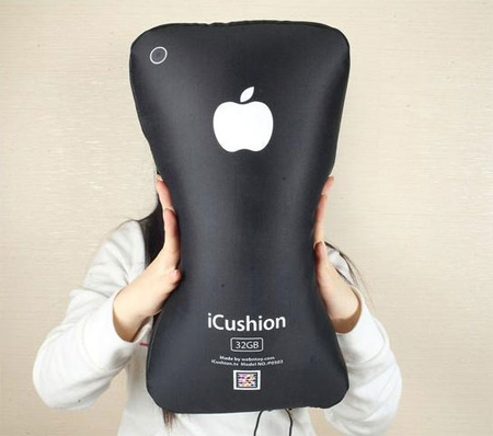 Apple iPhone Shaped Pillow