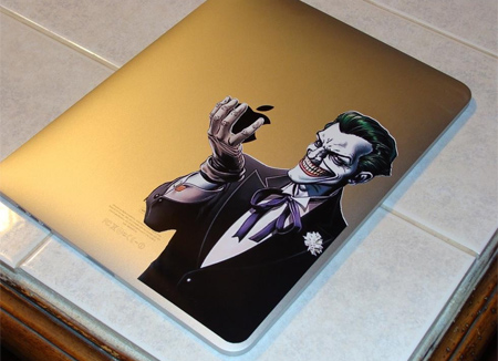 Joker iPad Sticker
