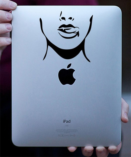 True Blood iPad Sticker