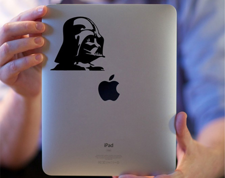 Darth Vader iPad Sticker