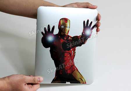 Iron Man iPad Sticker