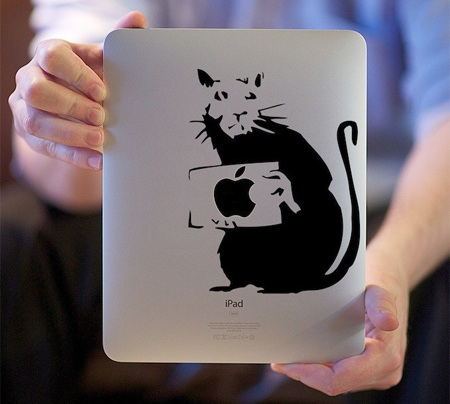 I Smell a Rat iPad Sticker