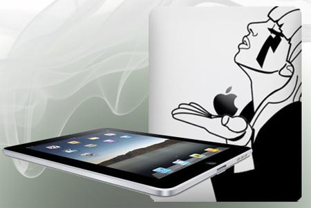 Lady Gaga iPad Sticker
