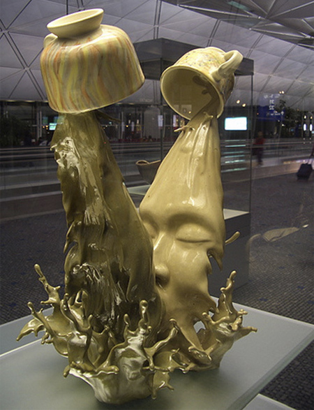 Coffee Kiss by Tsang Cheung Shing