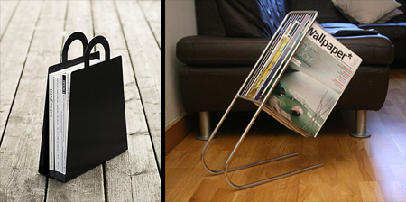 Unique and Creative Magazine Holders