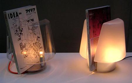 Magazine Stand Lamp