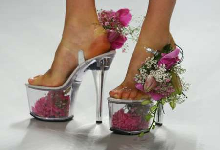 Flower Vase Shoes