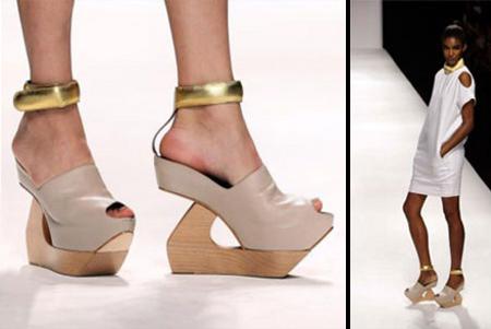 Wooden Heel Shoes