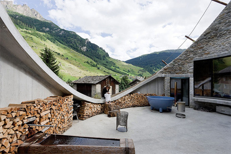 Underground House in Vals