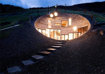 Villa Vals in Switzerland