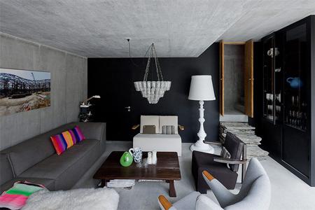 Underground House Interior