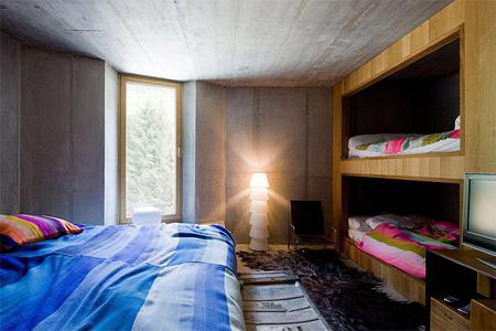 Underground Home Interior