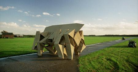 Walking Sculptures by Theo Jansen