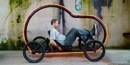 Illuminated Pedal Powered Car