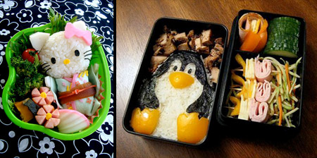 12 Creative Bento Lunch Boxes