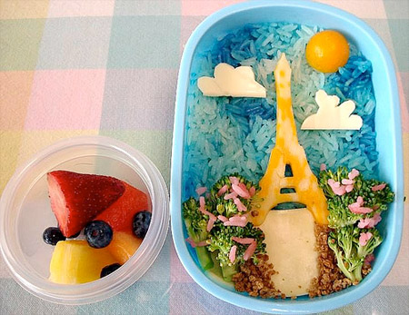 Eiffel Tower Bento
