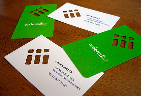 24 Creative Die Cut Business Cards