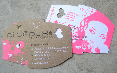 24 creative die cut business cards di depux business card colourmoves