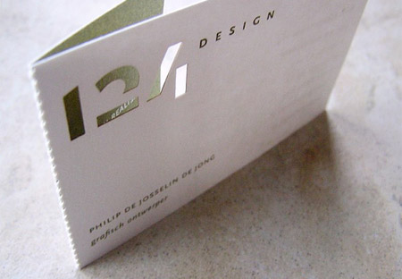 124 Design Business Card