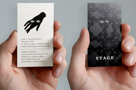 Stage Business Card