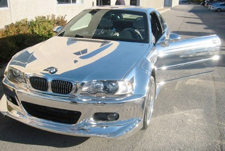 Chrome BMW