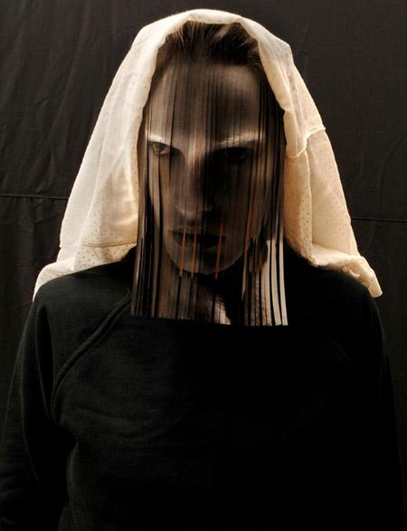 Fashion Magazine Cover Mask