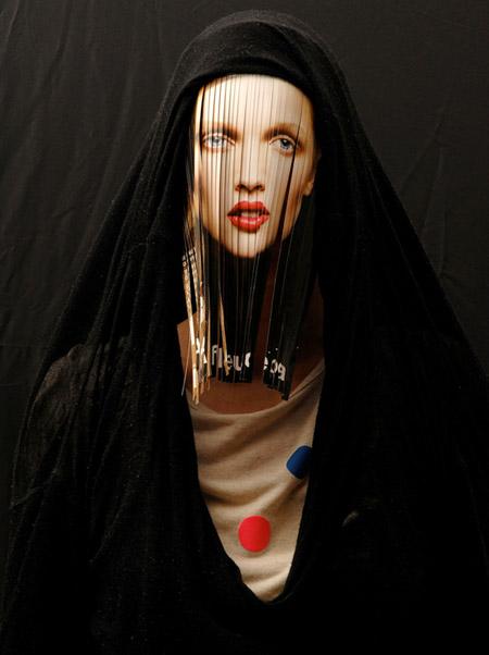 Mask by Frederique Daubal