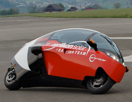 electric motorcycle enclosed - photo #3