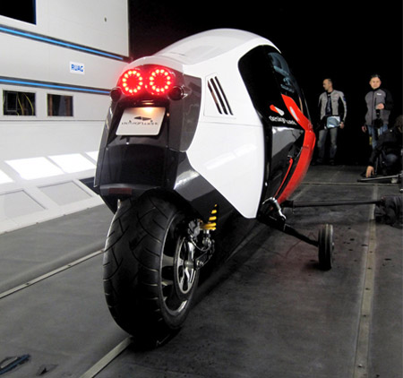 Fully Enclosed Electric Motorbike